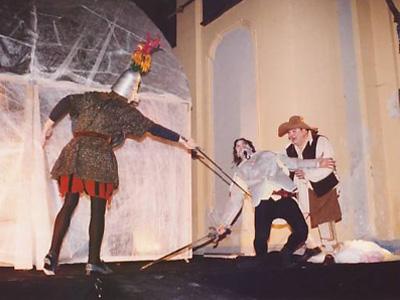 Don Chisciotte è fonte di continua ispirazione per gli spettacoli teatrali