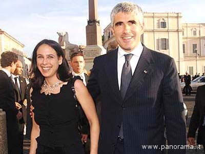 Azzurra Caltagirone e Pierferdinando Casini