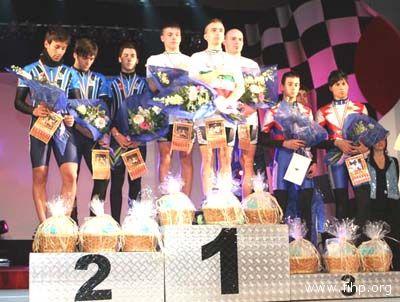 Adria, Campionati Italiani Indoor. Podio tutto sambenedettese