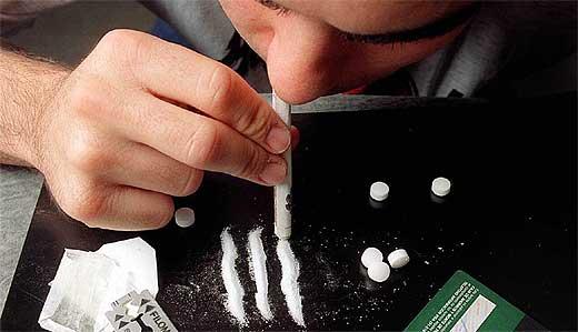 Cresce il consumo di cocaina in Italia