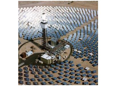 La centrale solare di Barstow, in California