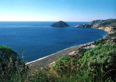 Una vista di Ischia