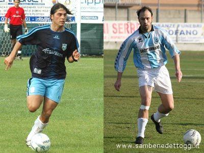 Alessio Rosa (a sinistra) e Massimiliano Fanesi