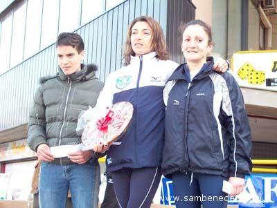 Maratonina 2007: podio femminile
