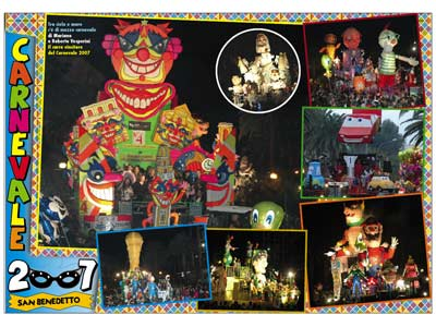 Riviera Oggi 667: il poster del Carnevale 2007