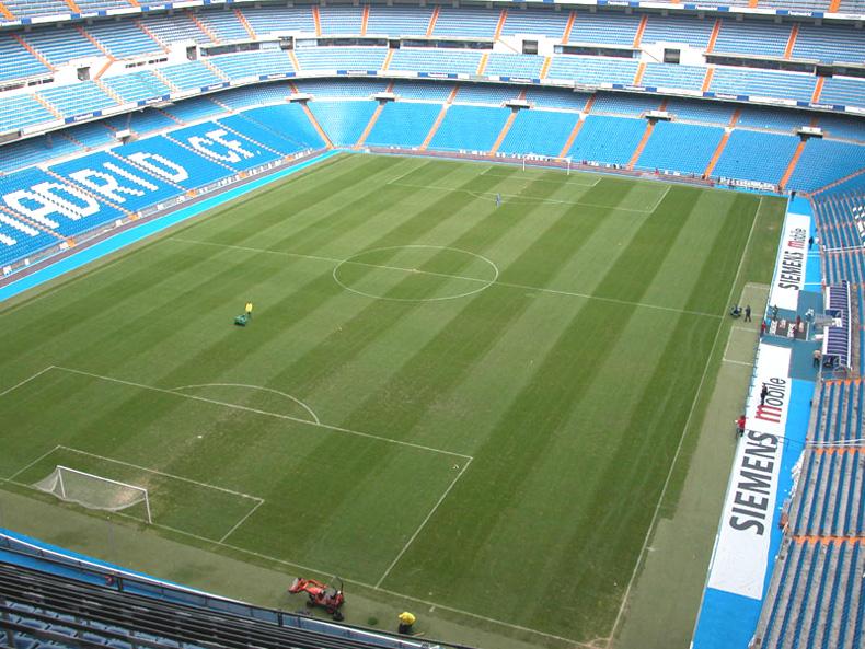 Lo stadio di Madrid