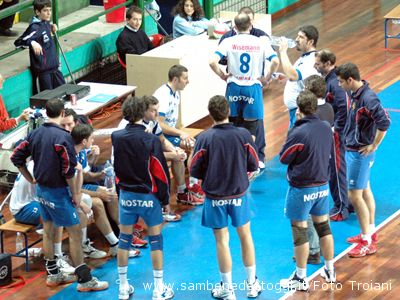 Mail Express-Snoopy Pesaro 1-3. Un time out in casa rossoblu