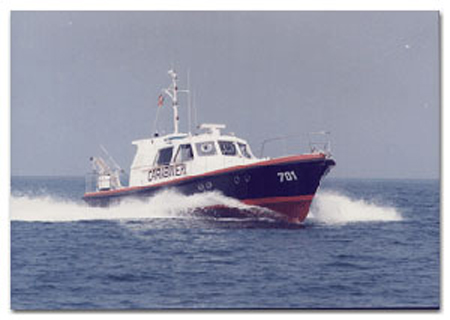 Una motovedetta dei carabinieri ha tratto in salvo un motoscafo in avaria