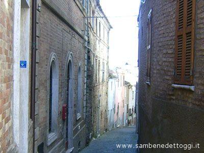 Uno scorcio del centro storico di Monteprandone