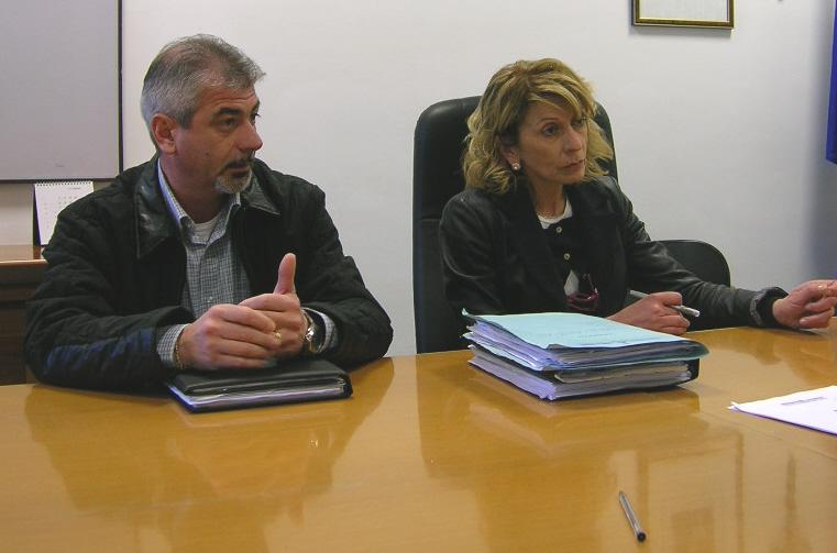 Sergio Pezzuoli e Loredana Emili