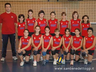 L'Under 14 femminile dell'Ares Volley
