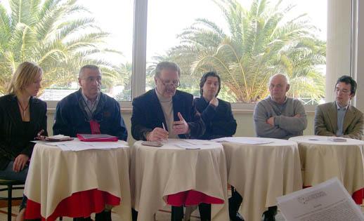 Marianna Jurcova Fernando Calvà, Valerio Grimaldi, Enrico Piergalini, Antonio Casilio, Raffaele Venieri