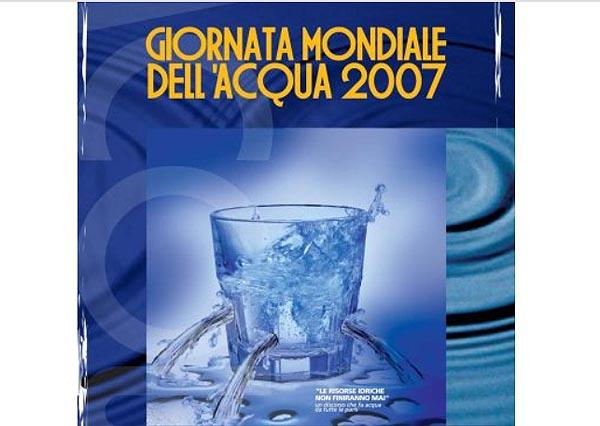 Giornata mondiale dell'acqua con Neri Marcorè
