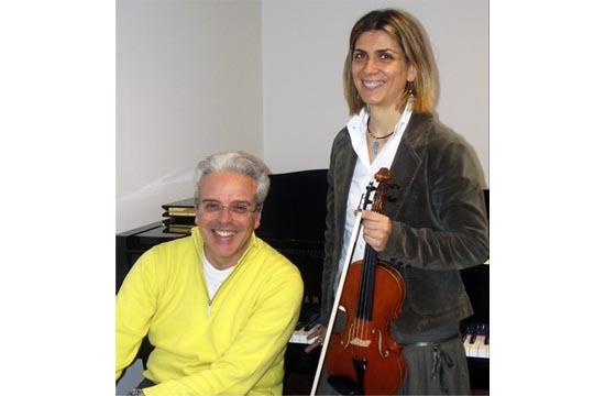 Il duo Stefania Franchini e Raffaele Di Berto
