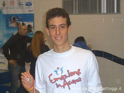 Il nuotatore della Cogese Mattia Felicetti