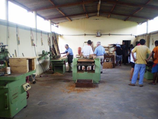 La falegnameria ad Itiuba