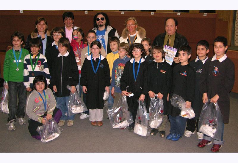 I ragazzi del terzo circolo didattico di San Benedetto, campioni provinciali di scacchi