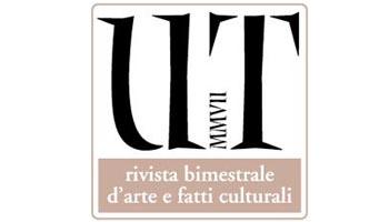Il logo di UT, rivista bimestrale d'arte e fatti culturali