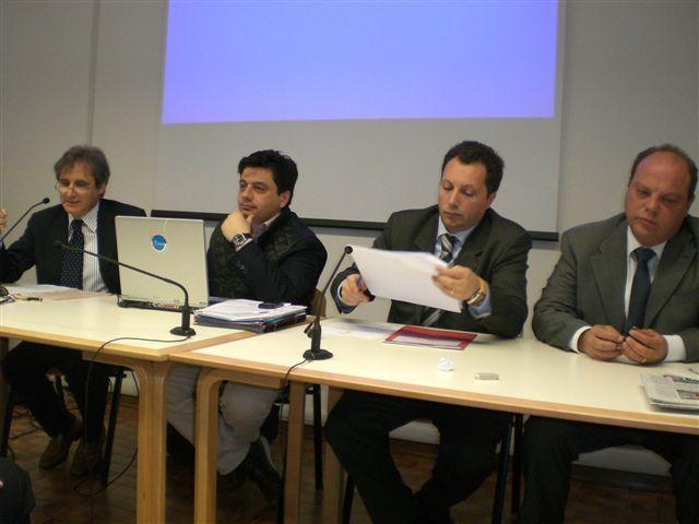I partecipanti al seminario dell'Eurispes Marche