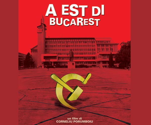 A est di Bucarest, locandina