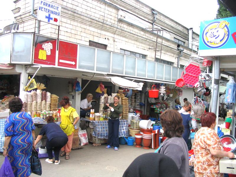 Un mercato di Chisinau
