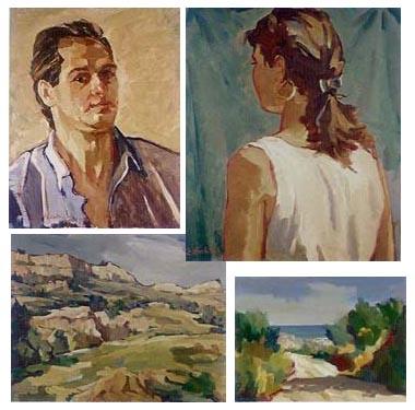 Alcune opere di Edoardo Vecchiola