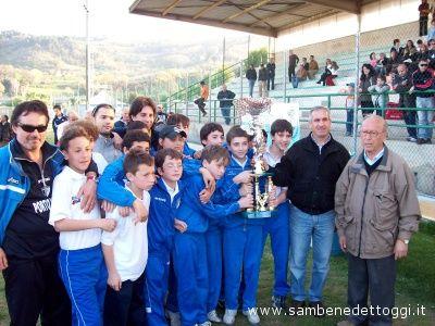 La festa degli Esordienti del Porto d'Ascoli