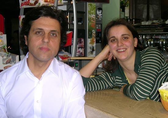 Giacomo Vallorani e Roberta Malavolta