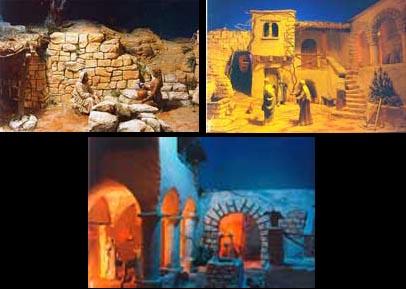 Alcune scene del Presepe poliscenico di Cupra