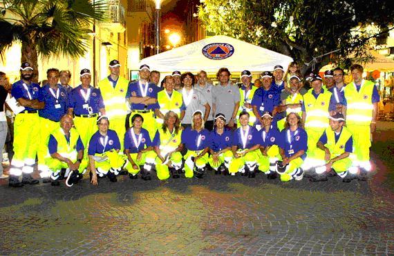 Il gruppo comunale della Protezione Civile