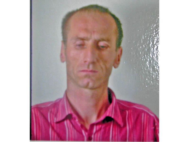 Foto segnaletica di uno dei tre autori del furto al bar Garden