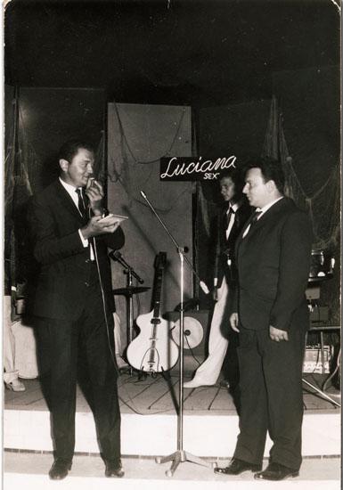 Marcello Rosati la sera che vinse il Kursaal d'oro