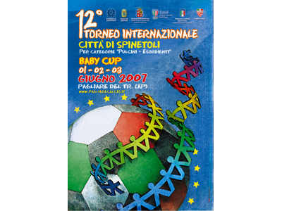 Baby Cup: la brochure della 12a edizione del torneo