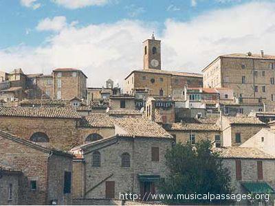 Il centro storico di Ripatransone