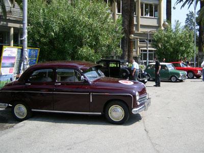 alcune delle auto storiche in mostra