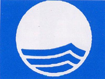 Il logo della Bandiera Blu