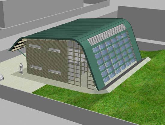 Progetto di casa a basso impatto