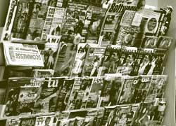 Giornali in edicola