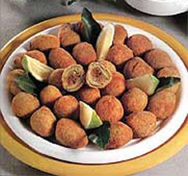 Le deliziose olive fritte