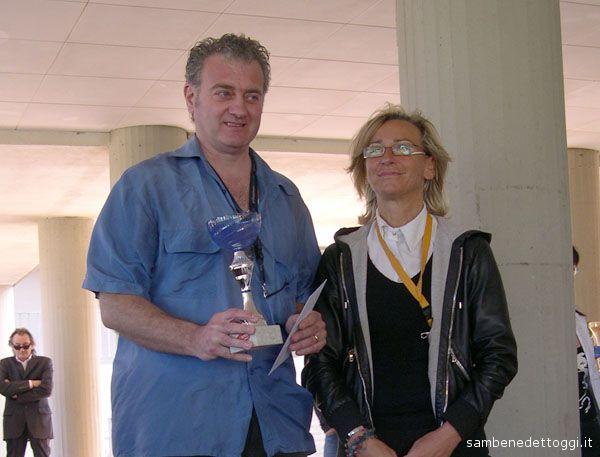 Carlo Gentili premiato dall'Assessore Sorge
