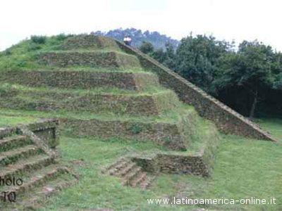 Una piramide Maya