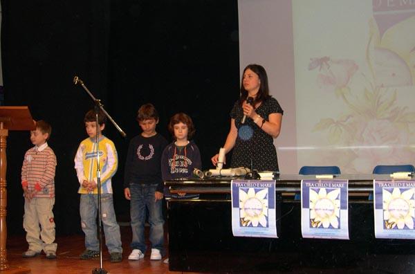 La premiazione dei bambini