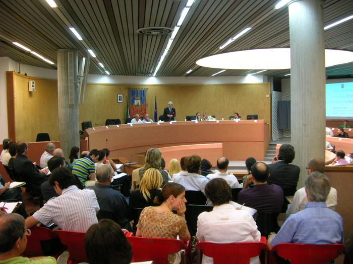 Un momento dell'incontro organizzato dall'amministrazione provinciale