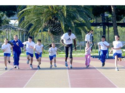 Giovani e sport, una bella foto d'archivio: i