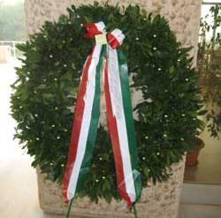 Deposta una corona di alloro per commemorare i partigiani uccisi il 12 giugno 1944