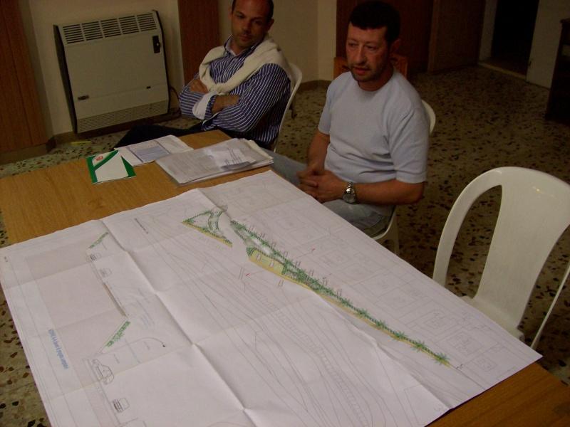 Giovanni Gabrielli mostra il progetto per Via Gabrielli