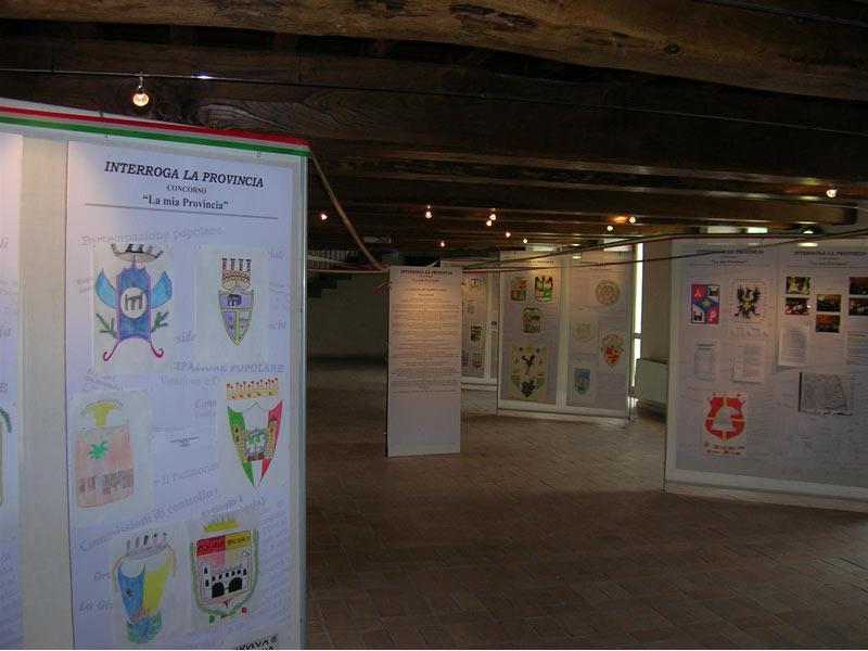 gli elaborati del concorso in mostra alla Cartiera papale