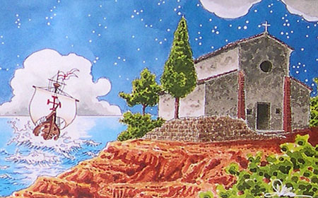 La copertina del fumetto di Angelo Maria Ricci e Michele Rossi
