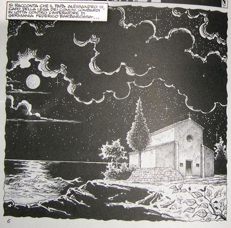 Particolare del fumetto di Angelo Maria Ricci e Michele Rossi