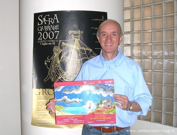 Angelo Maria Ricci presenta il fumetto della Sacra Giubilare 2007